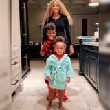 Rock It, Don't Stop It - See Ciara and Her Family Take Turns Dancing It Up in the Kitchen