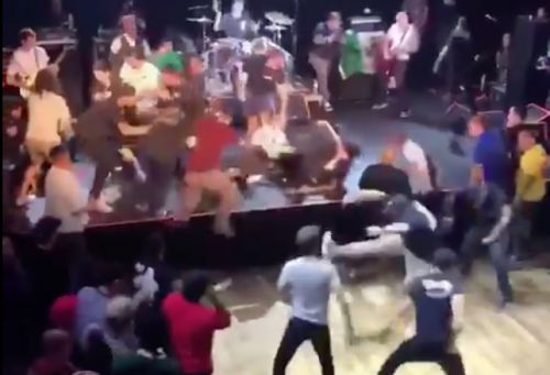 Which Person in this Ridiculous Hardcore Pit Is Your Favorite?