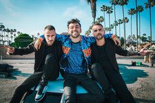 Galantis and Max Moto-Surf LA in 'Satisfied,' Hit Big On 'Mama Look At Me Now': Watch