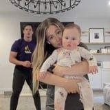 Shawn Johnson and Her Husband Shared Their At-Home Workout Routine, With Baby in Hand