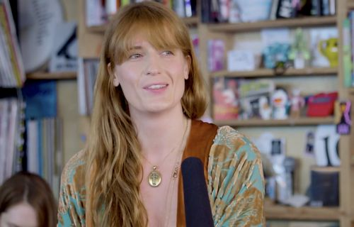 Florence Welch Brings Her Big Voice to a Tiny Desk Concert