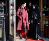 We're Staring at Meghan Markle's Ankle Boots Like We Would a Portrait in a Museum