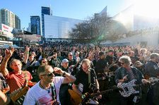 Watch More Than 450 Guitarists Play AC/DC's 'Highway to Hell' in World Record Attempt