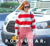 Now That We Saw Zoey Deutch in This Miu Miu Sweater, It Feels Like Valentine's Day