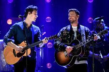 Justin Timberlake Opens 2018 iHeartRadio Music Festival With Shawn Mendes Assist