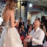 This Bridal Fashion Week Proposal Will Melt Your Heart and Make You Madly Jealous