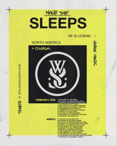 WHILE SHE SLEEPS Announces First-Ever North American Headline Tour