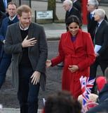 It's Prince Harry and Meghan Markle's First Outing This Year, Not That We Were Counting