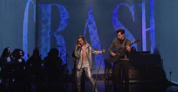 Watch Miley Cyrus, Mark Ronson, & Sean Ono Lennon Play SNL
