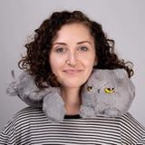 Amazon Is Selling a Grumpy Cat Heated Neck Pillow, and We Have Matching Attitudes