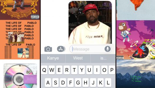 We Had an iPhone's Predictive Text Review Kanye West's Albums