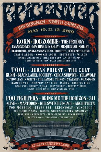 Epicenter 2019 lineup: Foo Fighters, Tool, Korn, Rob Zombie, The Prodigy lead inaugural bill