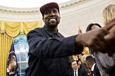 Kanye West Meets Uganda's President, Gifts Him Pair of Sneakers
