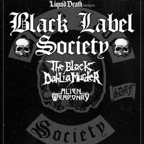 BLACK LABEL SOCIETY Announces Summer/Fall 2019 U.S. Tour With THE BLACK DAHLIA MURDER, ALIEN WEAPONRY