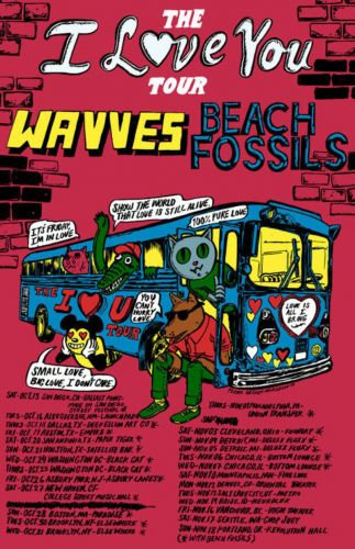 Wavves announce co-headlining tour with Beach Fossils