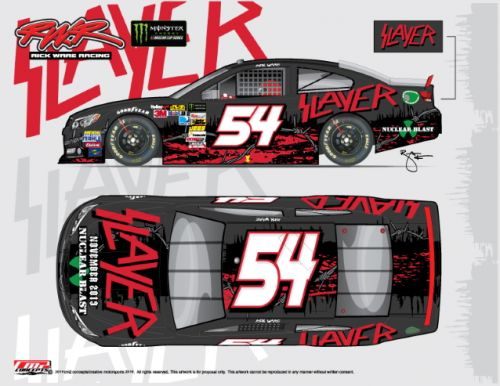 SLAYER's Sponsorship Pulled From NASCAR Race