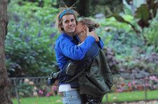 Justin Bieber and Hailey Baldwin Hug and Kiss in London After Alleged Wedding