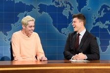 'SNL': Pete Davidson Makes Light of Suicide Scare on Weekend Update
