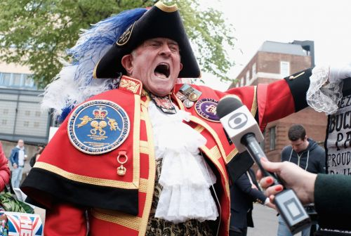 FYI, the Town Crier Is Not Actually Affiliated With the Royal Family