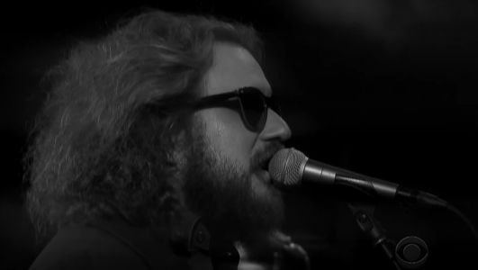 "Watch Jim James Rock Out ""Just A Fool"" On Colbert"
