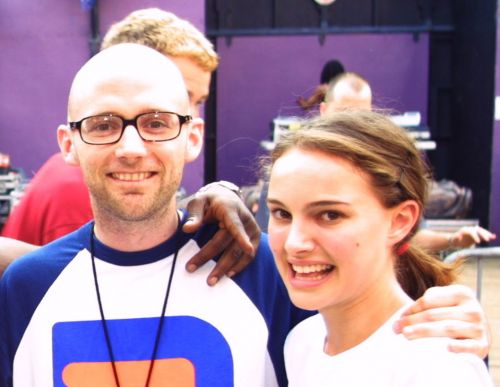 "Natalie Portman Denies Dating Moby, A ""Much Older Man Being Creepy"""
