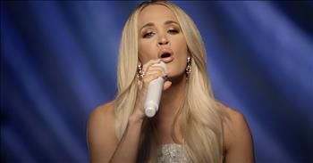 Carrie Underwood Sings Live Rendition Of 'How Great Thou Art'