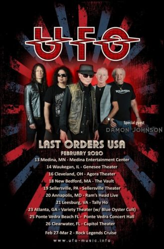 UFO To Continue 'Last Orders' Tour In 2020