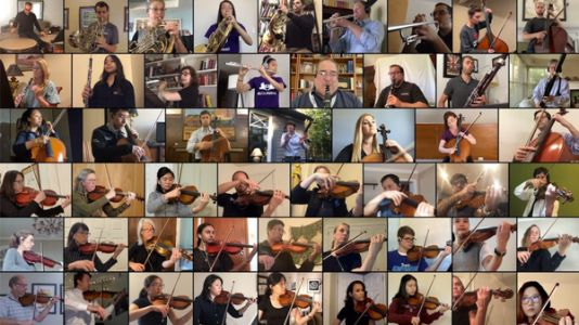 Meet The Medical Professionals Playing Classical Music Together Online