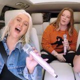 Christina Aguilera Brings the Genie - and Melissa McCarthy - Out of the Bottle For Carpool Karaoke