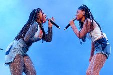 Chloe x Halle Send Beyonce Their Love at Coachella: See the Pic