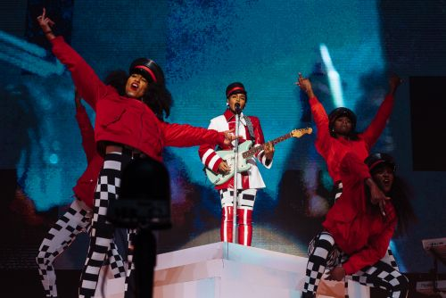 Janelle Monae lets freedom ring at Prince-dedicated State Theatre show