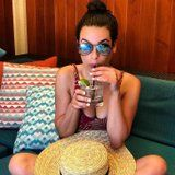 Lea Michele's Sexy Red Bikini Makes Us Want to Book a Vacation ASAP
