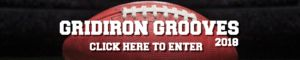 2018 Gridiron Grooves Giveaway
