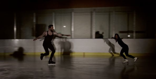 "Ruston Kelly Figure Skates In His ""Son Of A Highway Daughter"" Video"