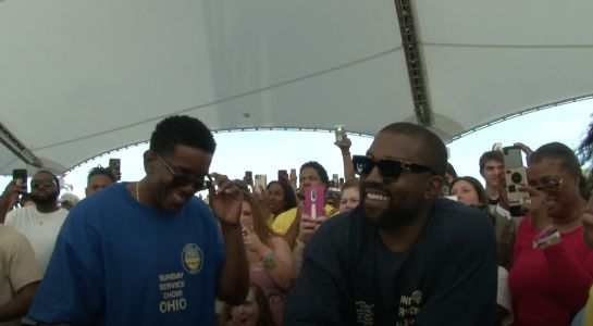 Watch Kanye's Sunday Service In Dayton In Support Of Mass Shooting Victims