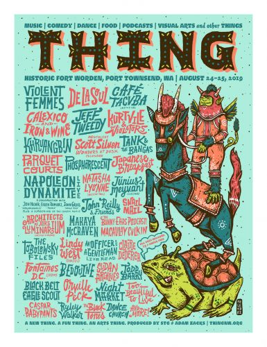 Sasquatch! Founder's THING Fest Has Bands, Podcasters, A Napoleon Dynamite Reunion, And A Live Reading Of An Officer And A Gentleman