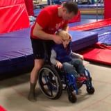 This Video of a 4-Year-Old Jumping on a Trampoline in a Wheelchair Will Put an Enormous Smile on Your Face