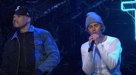 Watch Justin Bieber Perform With Chance The Rapper On Saturday Night Live