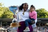 Serena Williams Signed Olympia, 3, Up For Tennis Lessons, and They Have Matching Rackets