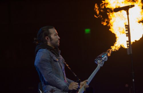Fall Out Boy pairs sonic blasts with sensational visuals at Erwin Center concert