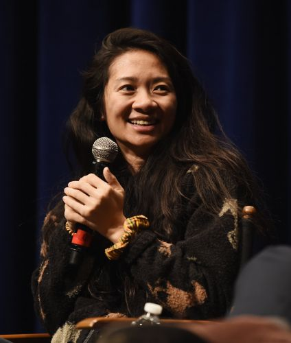 "Chloé Zhao Makes Golden Globes History: ""This Is Why I Fell in Love With Making Movies"""