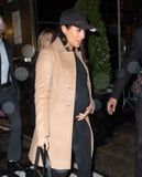 Meghan Markle Heads Back to London After Getting a Brit Awards Shoutout From Beyoncé