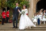 "Princess Eugenie's Tall, Towering Wedding Heels Will Make You Say, ""Well, She's a Pro!"""