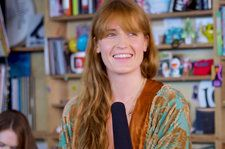 Florence + The Machine Unplugs For NPR Tiny Desk: Watch