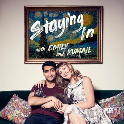 KUMAIL NANJIANI AND EMILY V. GORDON ARE STAYING IN FOR CHARITY