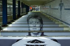 Spotify Creative Director Says 'Nothing Could Be Conventional' for David Bowie Subway Station Takeover