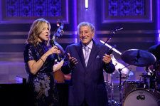 Tony Bennett and Diana Krall Deliver a 'Wonderful' Duet On 'Fallon': Watch