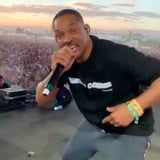 Will Smith Surprised Coachella Crowds and Joined Jaden Onstage, Just Like an Icon Living