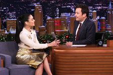 Vanessa Hudgens Talks Reading Jennifer Lopez's Mind, 'Rent Live' On 'Tonight Show': Watch