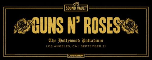 GUNS N' ROSES To Play Intimate Show In Los Angeles This Weekend